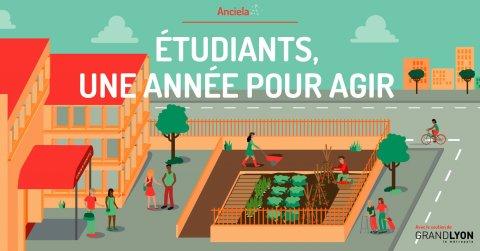 Etudiants, une année pour agir ! Avec Anciela, Lyon 7e