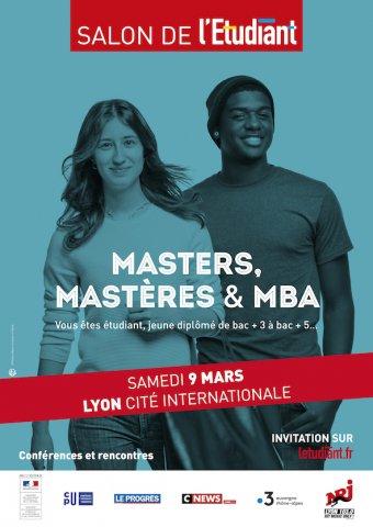 Salon L'Etudiant des Masters et MBA, Lyon 6e