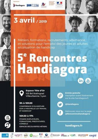 Rencontres Handiagora, Lyon Villeurbanne