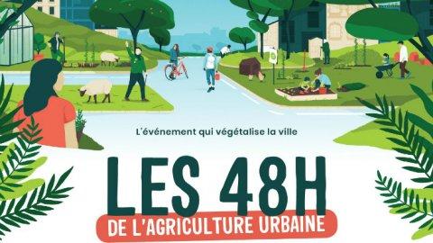 Les 48h de l'agriculture urbaine, les 4 & 5 mai, Lyon