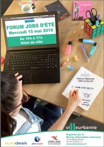 Forum Jobs d'été, Villeurbanne