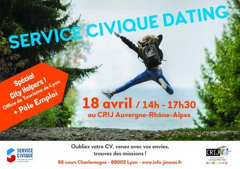 Service Civique dating, CRIJ Auvergne-Rhône-Alpes, Lyon 2e