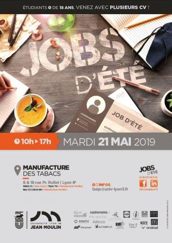 Forum Jobs d'été, Université Lyon 3
