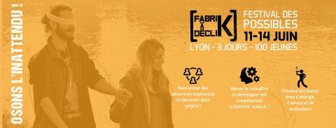 FabriK à DécliK été 2019, du 11 au 14 juin, Lyon