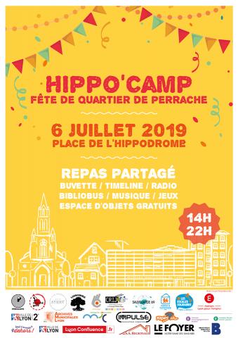 Hippo Camp, Fête de quartier, Perrache-Confluence, Lyon 2e