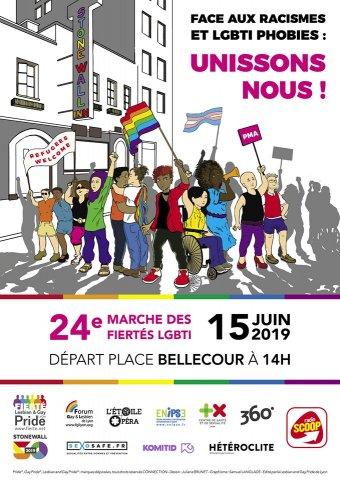 24e Marche des fiertés, Lyon