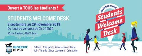 Students Welcome Desk : ouverture, Lyon