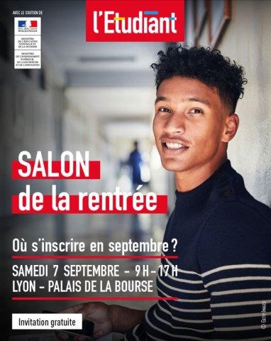 Salon de la rentrée - L'Etudiant, Lyon