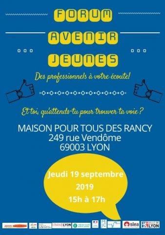 Forum Avenir Jeunes, Lyon 3e