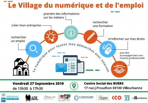 Village du numérique et de l'emploi, Villeurbanne