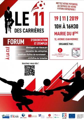 Forum emploi : 11 des carrières, Lyon 8e