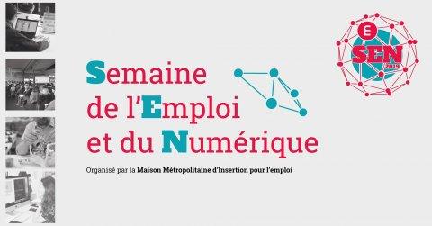 Semaine de l'emploi et du numérique, du 12 au 19 décembre, L...