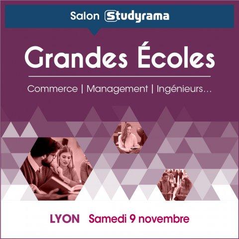 Salon Studyrama des grandes écoles, Villeurbanne