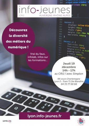 Découverte des métiers du numérique, Lyon 2e