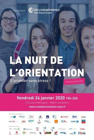Nuit de l'orientation 2020, Lyon