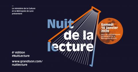 Nuit de la Lecture 2020, Métropole de Lyon