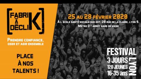 FabriK à DécliK hiver 2020, 25 au 28 février, Lyon