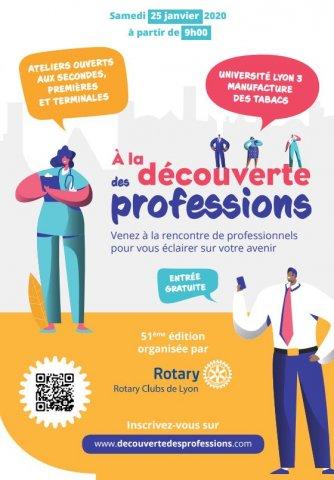 Découverte des professions : rencontres métiers, Lyon