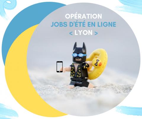 Jobs d'été en ligne, Lyon