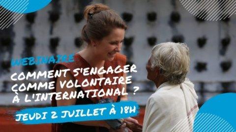 S'engager comme volontaire à l'international