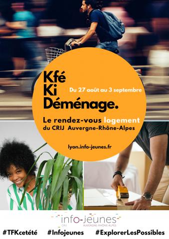 Kfé Ki Déménage | Rendez-vous logement au CRIJ !