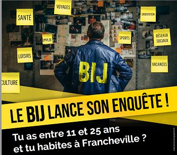 Enquête pour les jeunes de Francheville !