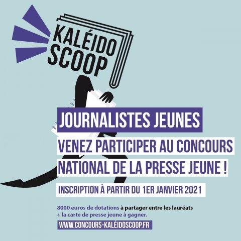 Kaléïdo'scoop, concours national de presse jeune