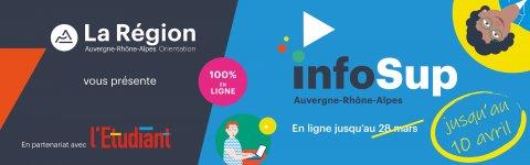 Salon virtuel infoSup jusqu'au 10 avril