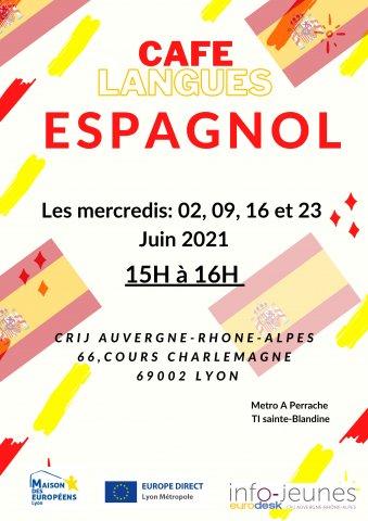 Café langues ESPAGNOL, Lyon 2e