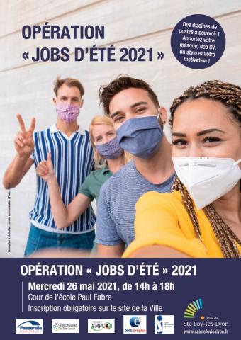 Opération Jobs d'été, Ste Foy-Lès-Lyon