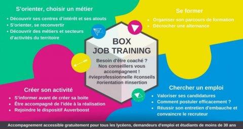 Job training formation, emploi et orientation