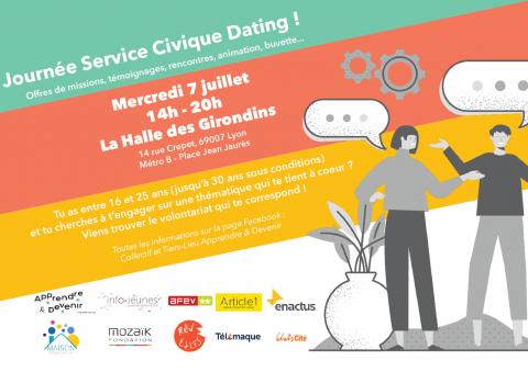 Service Civique Dating, Lyon 7e