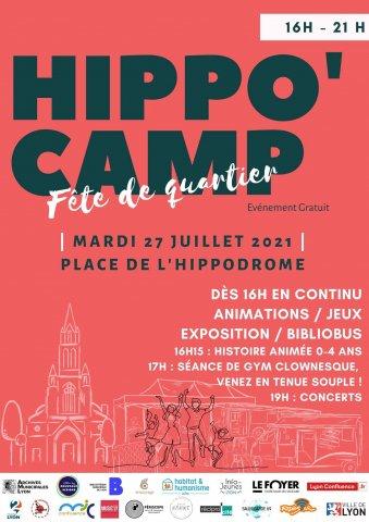 Hippo'Camp, Fête de quartier, Perrache-Confluence, Lyon 2e