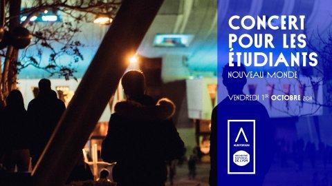 Concert gratuit pour les étudiant·e·s, Auditorium de Lyon