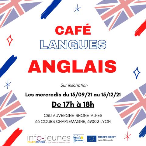 Café langues ANGLAIS, Lyon 2e
