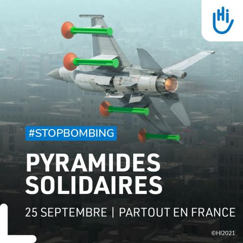 Pyramide solidaire, Handicap International, Lyon
