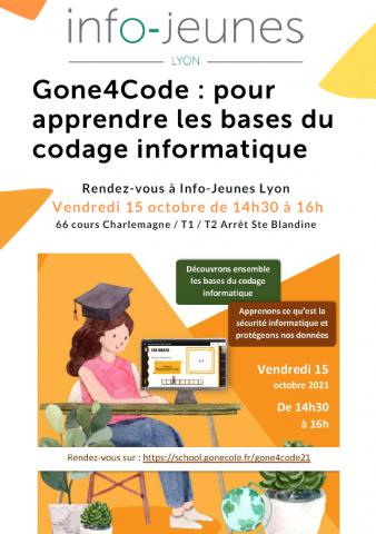 Atelier Gone4code, Lyon 2e