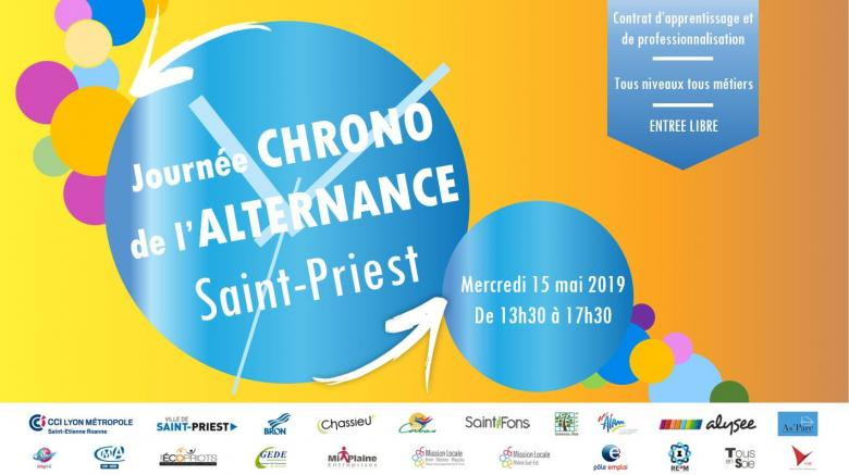 Journée chrono de l'alternance - St Priest