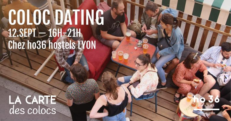 Coloc dating, Lyon 7e, jeudi 12 septembre de 16h à 21h